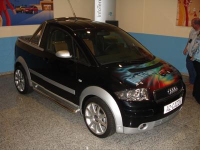 a2 sondermodell caddy pick up ausstattungen umbauten audi a2 club deutschland. Black Bedroom Furniture Sets. Home Design Ideas