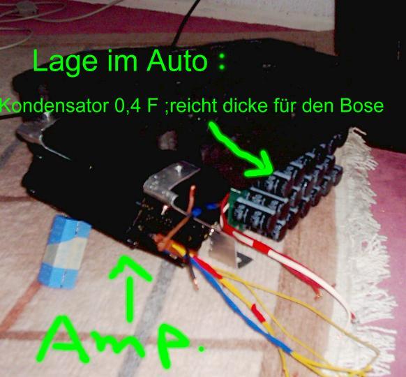 Boseverstärker nachgerüstet - HIFI - Handy - NAVI - Audi A2 Club ...