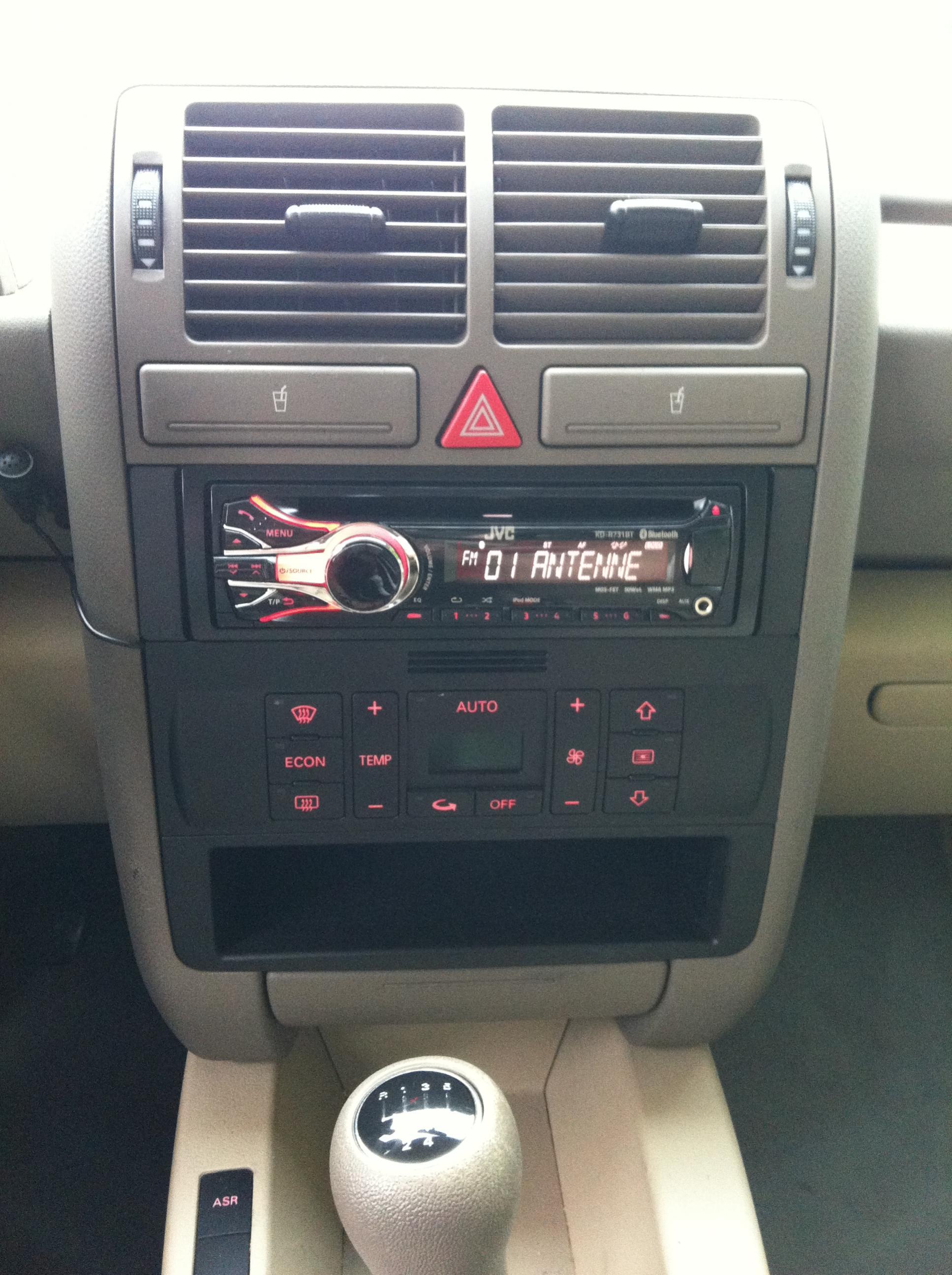ISO-Radio nachrüsten - Seite 6 - HIFI - Handy - NAVI - Audi A2 Club ...
