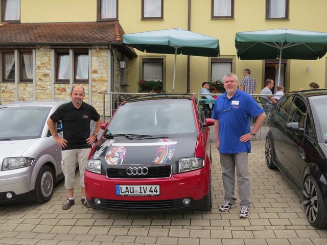 Krone-Fichtenberg-Audi-A2's-Wanderhaube-Larsfuchs-Nupi