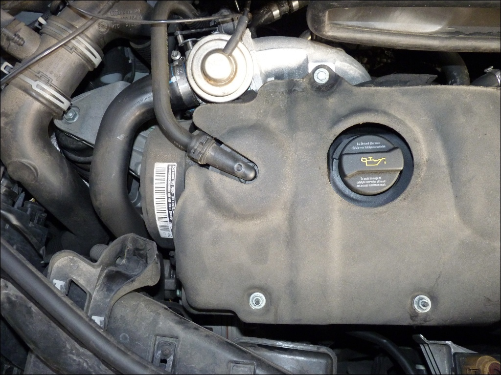 1.2TDI Motorraum