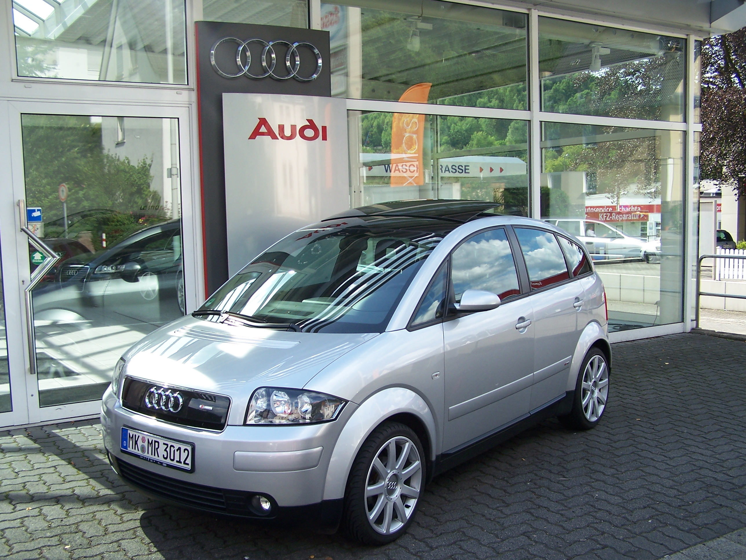 Audi A2 Kalender 2015
