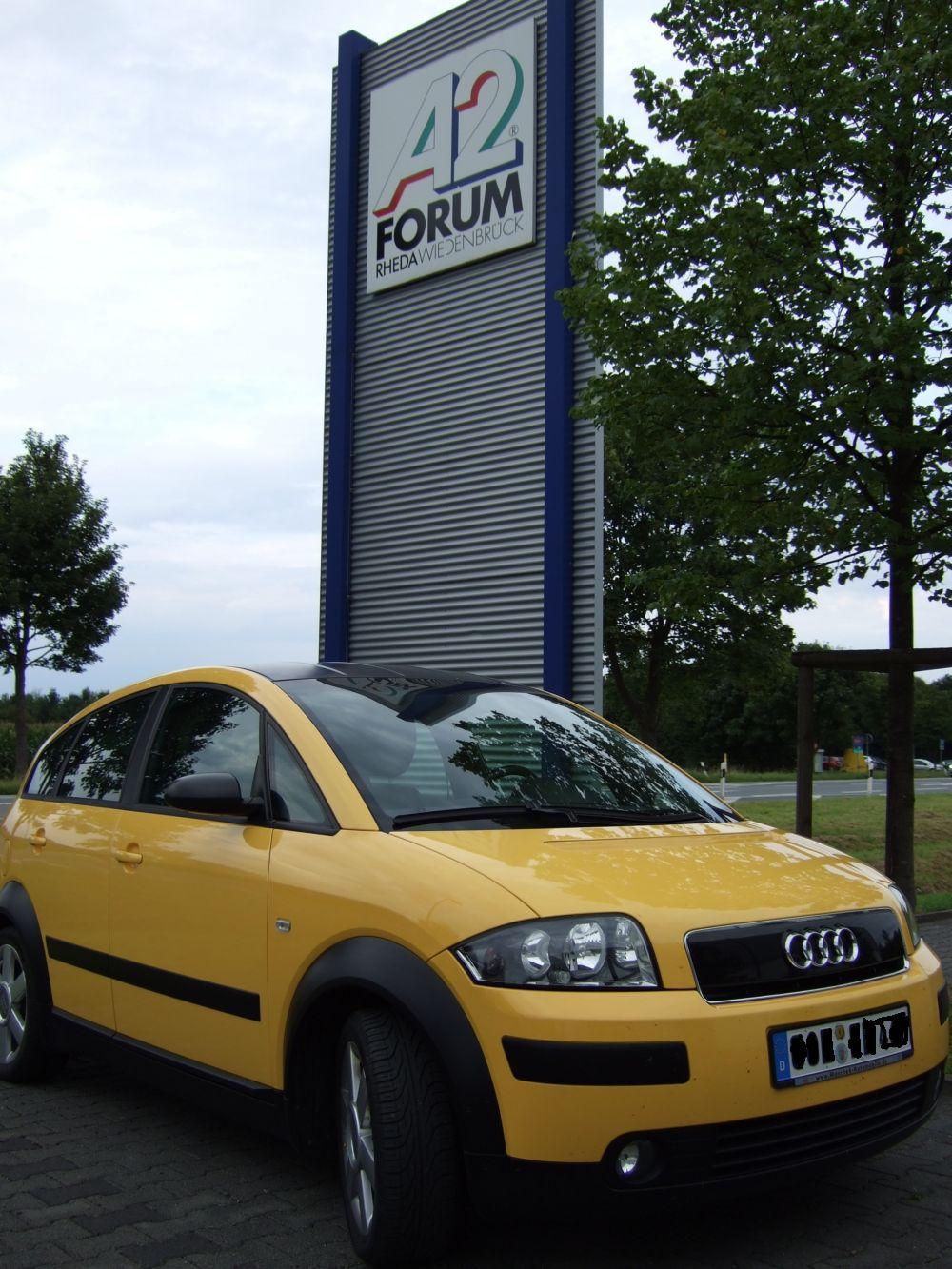 Am See und auf der Rückfahrt am A2-Forum