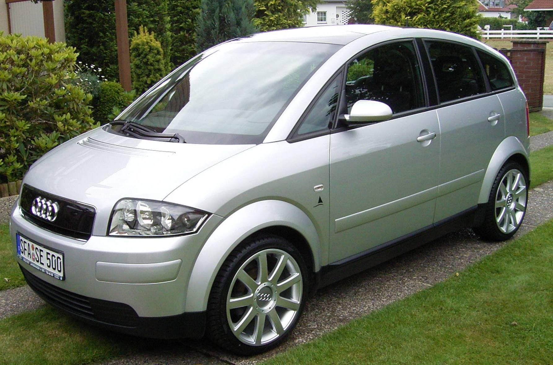 Basti´s Audi A2 aus Heilbronn