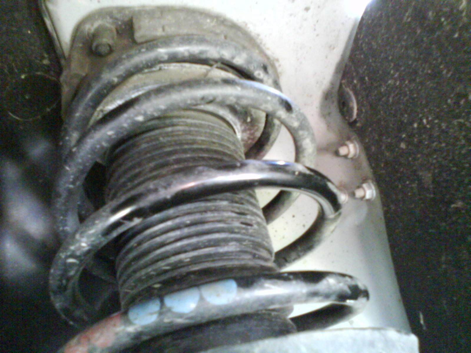 S-line Feder gebrochen