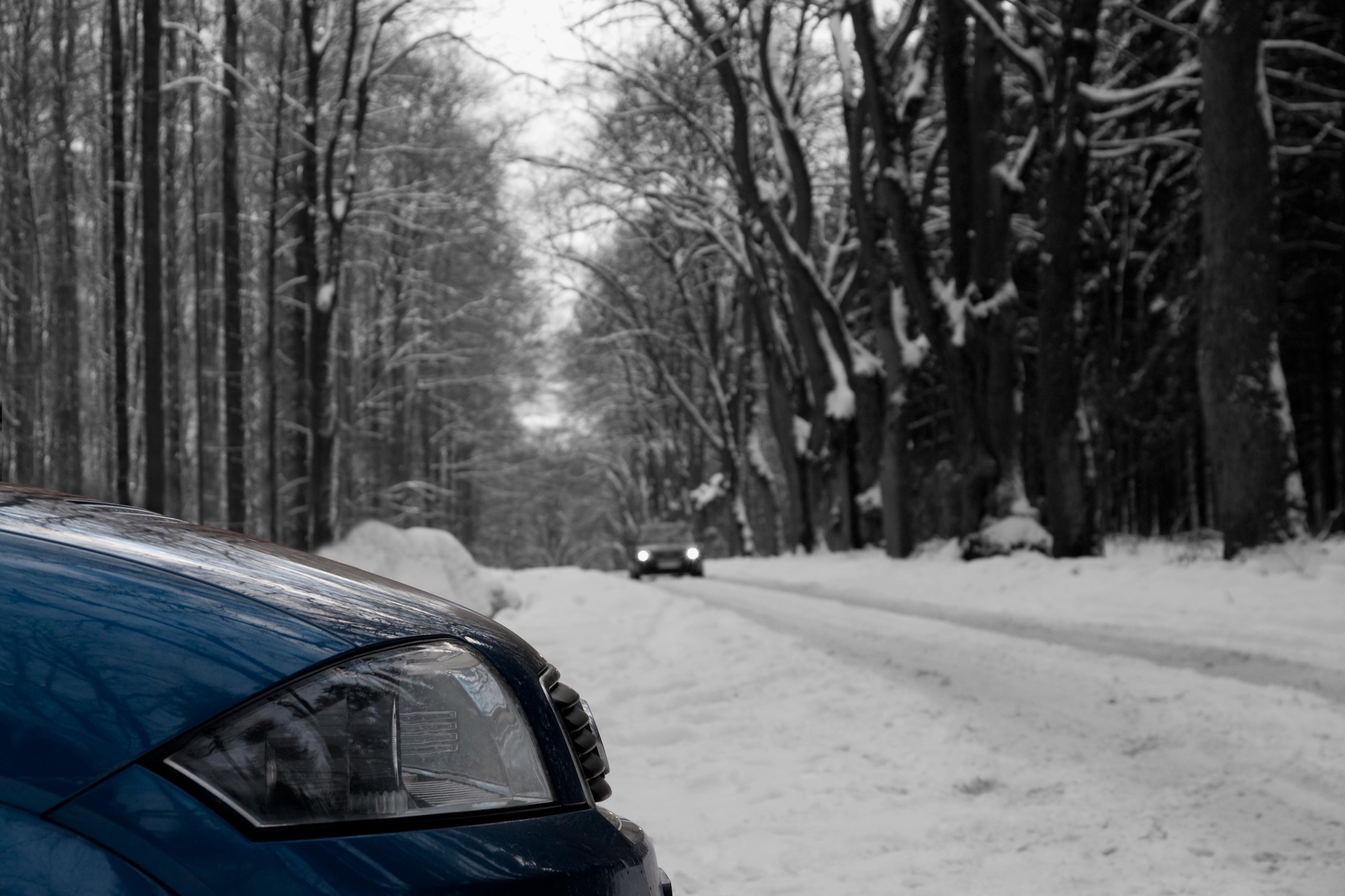 A2 im Winter