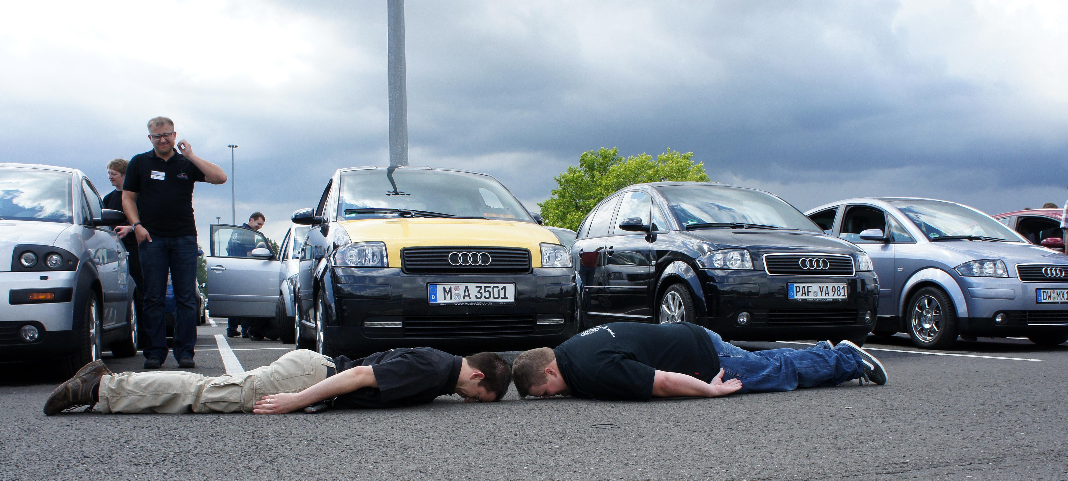 Planking und Hagel