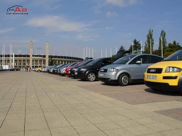 Parkplatz Olympiastadion