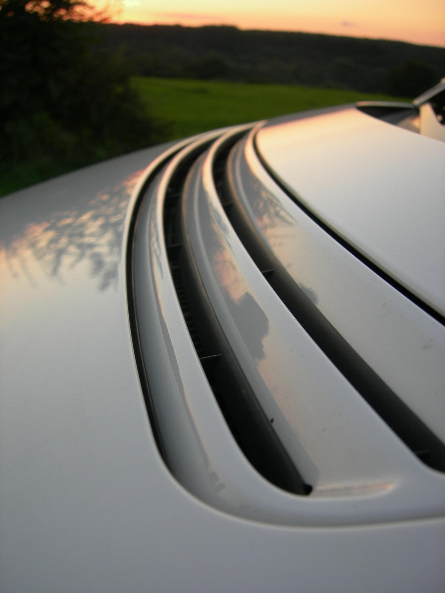 Weißer Audi A2