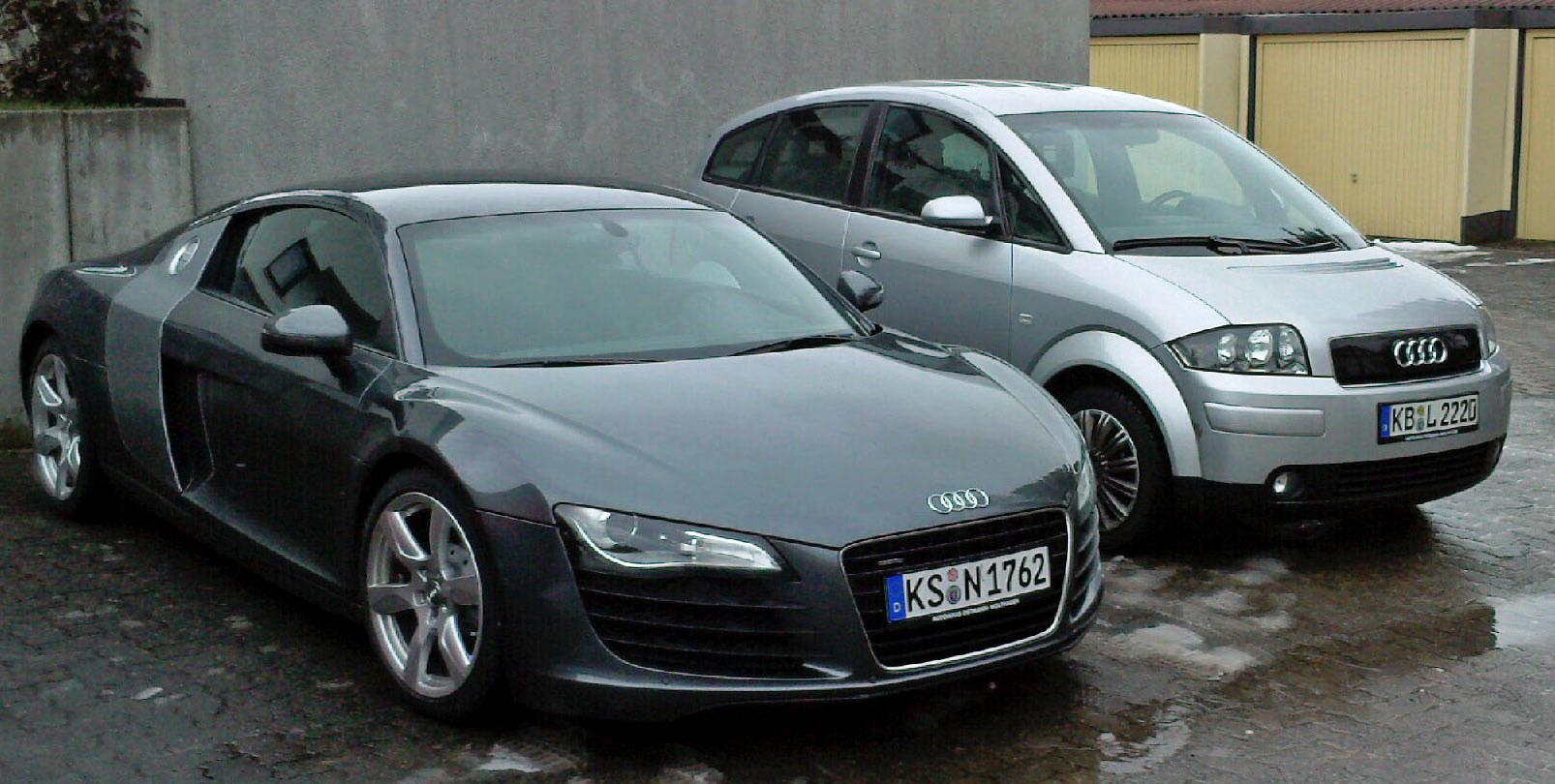 Audi A2 VS Audi R8