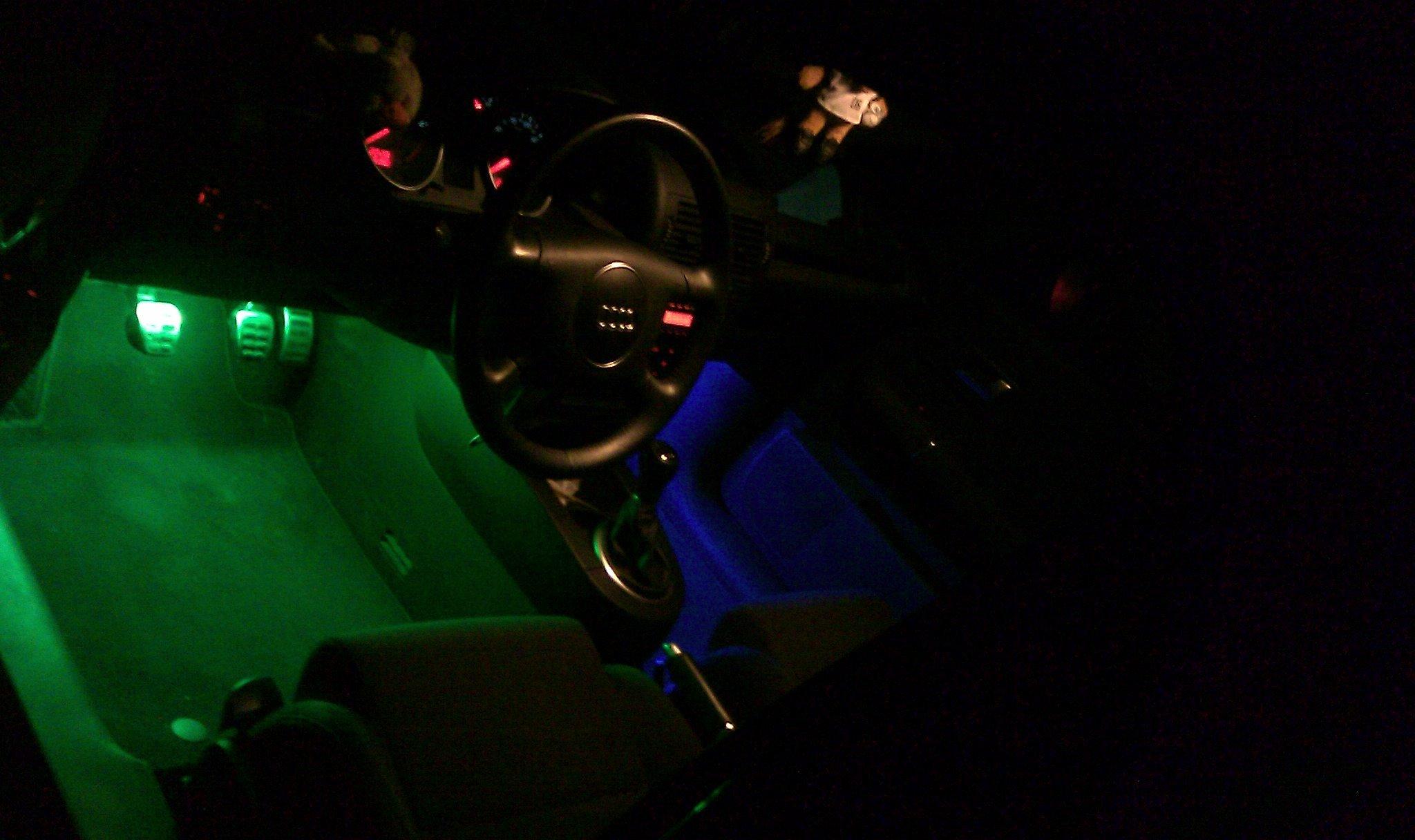 Fußraumbeleuchtung