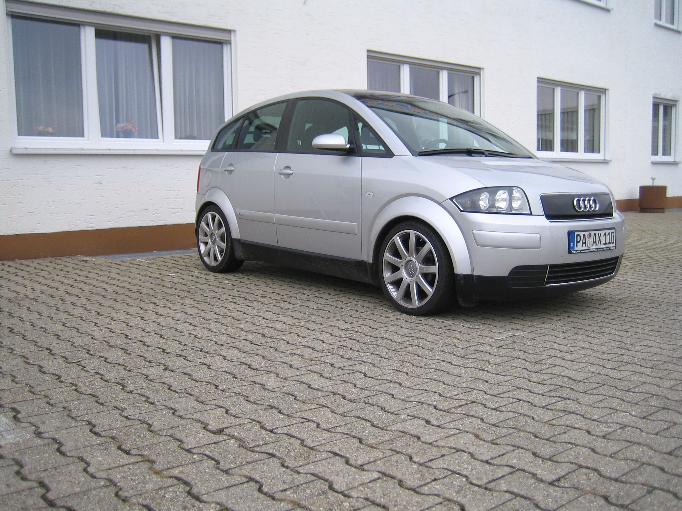 Audi a2 mit spax rsx