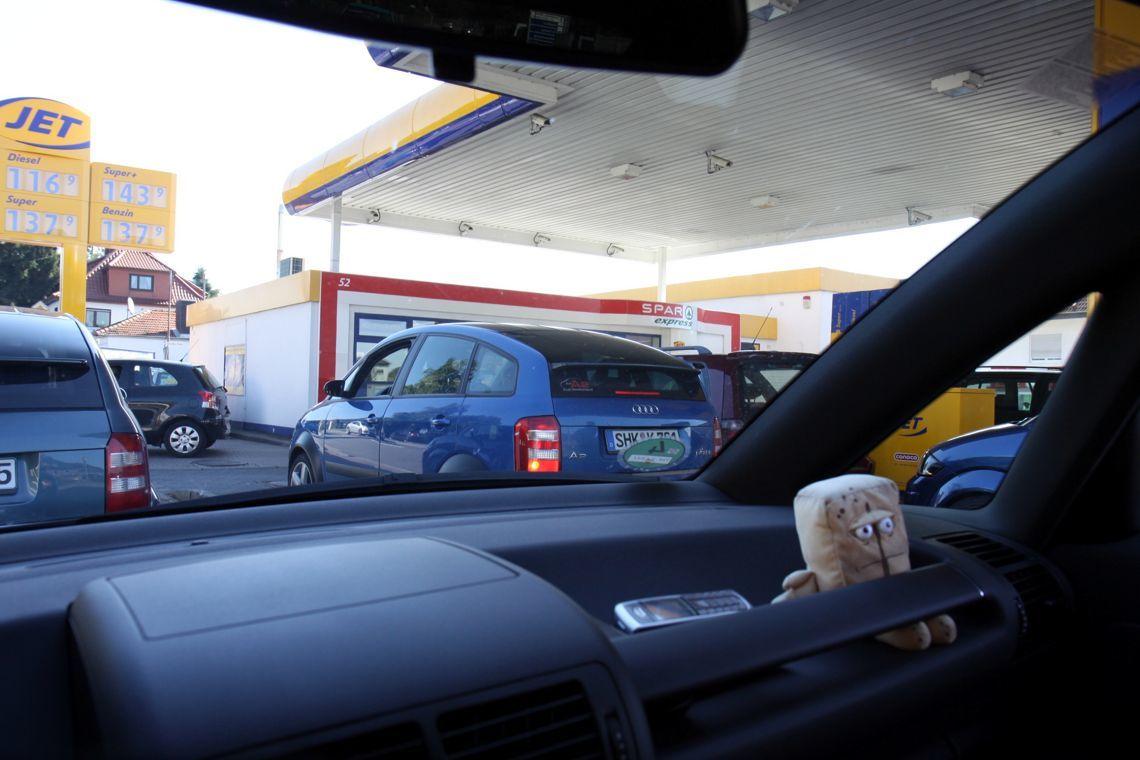 Jahrestreffen 2010 Odenwald - Tankstelle