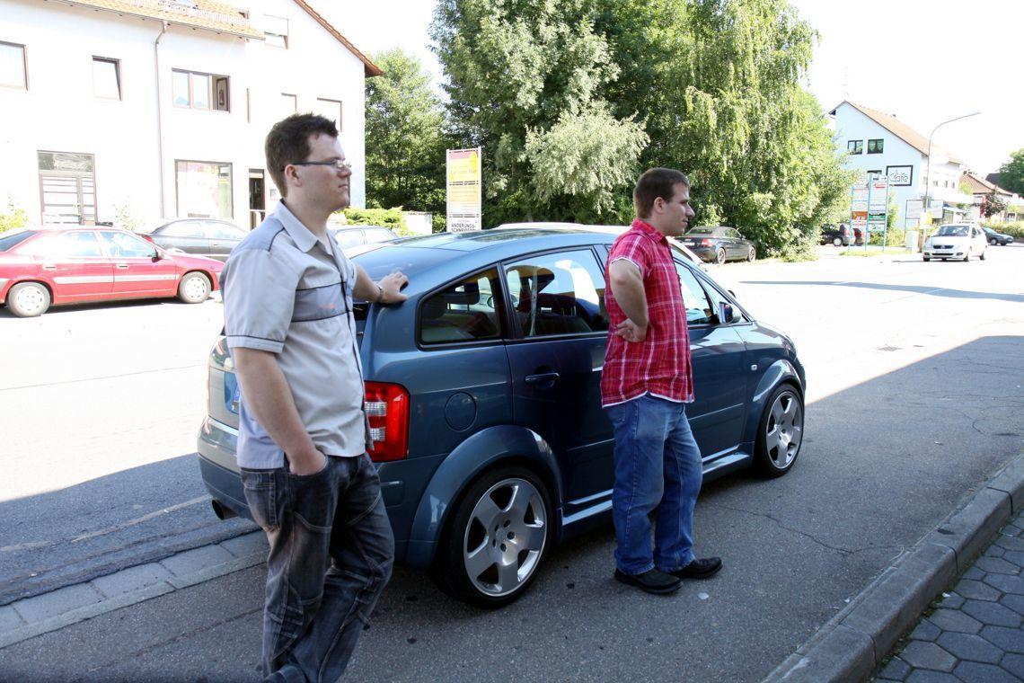 Jahrestreffen 2010 Odenwald - Start zur Orientierungsfahrt