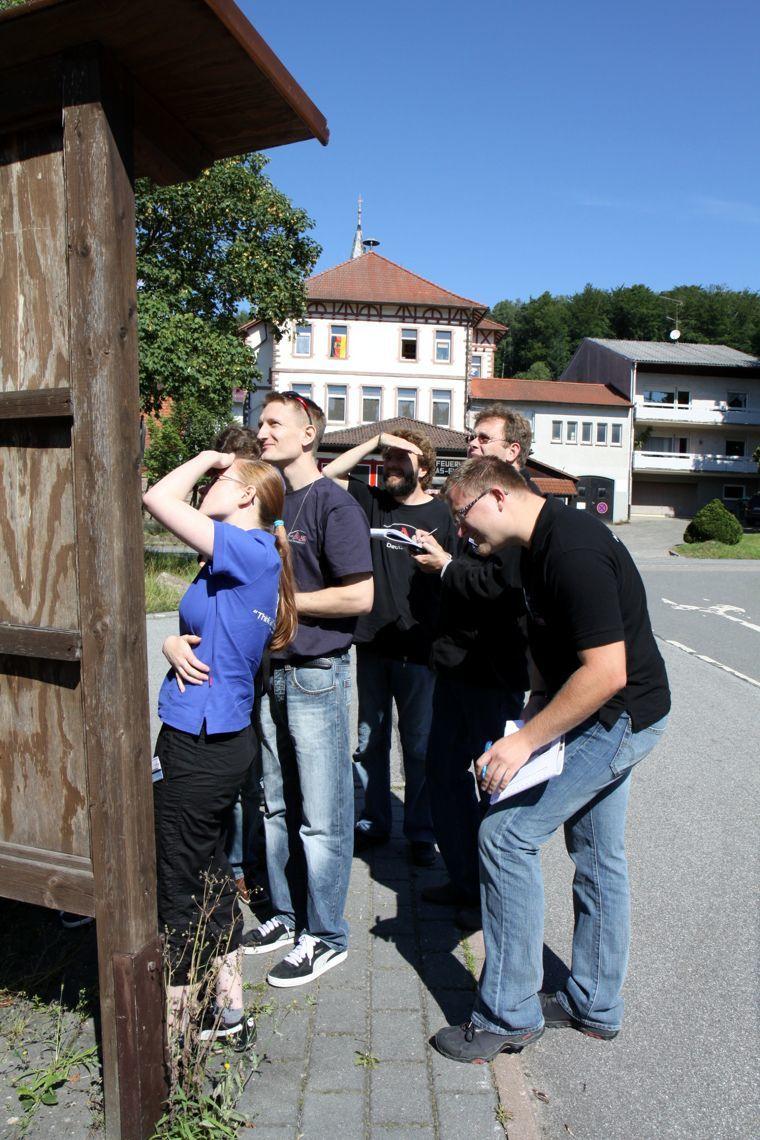 Jahrestreffen 2010 Odenwald - Orientierungsfahrt