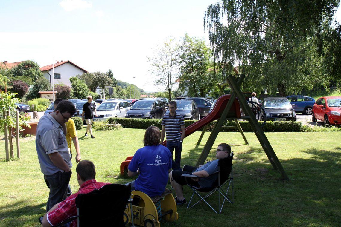 Jahrestreffen 2010 Odenwald - Orientierungsfahrt Halbzeit