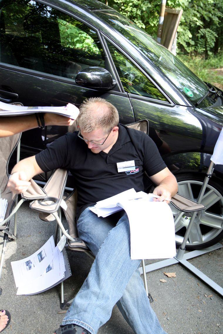 Jahrestreffen 2010 Odenwald - Orientierungsfahrt Finale