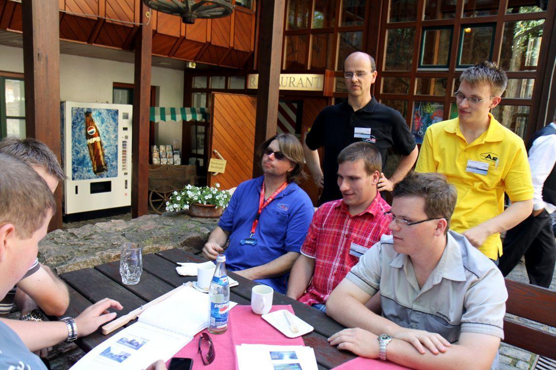 Jahrestreffen 2010 Odenwald - Zurück zur Burgschänke
