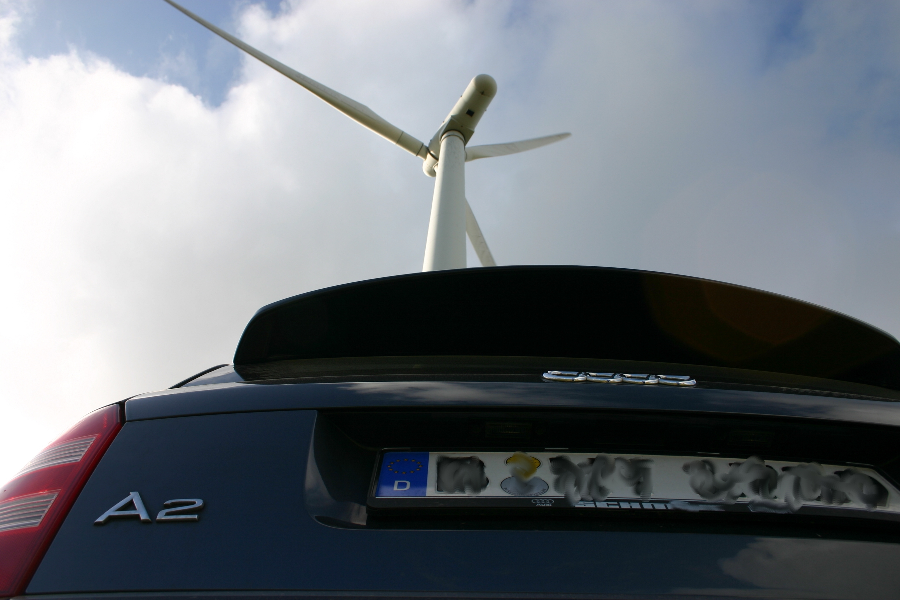 Windkraftrad meets A2