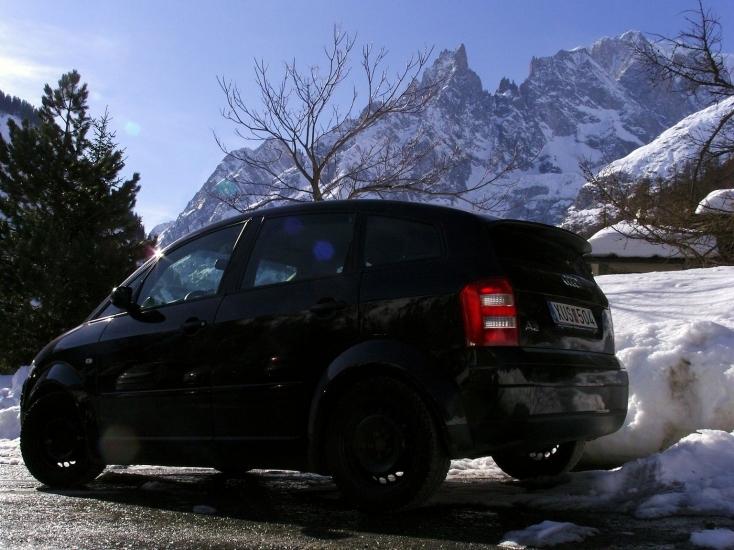 A2 vorm Mont Blanc