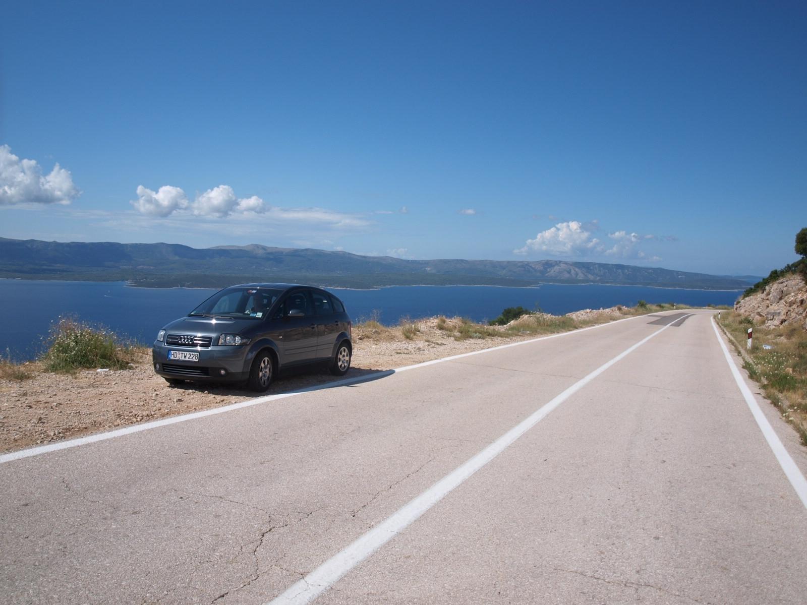 A2 auf der Insel Brac (Croatia)