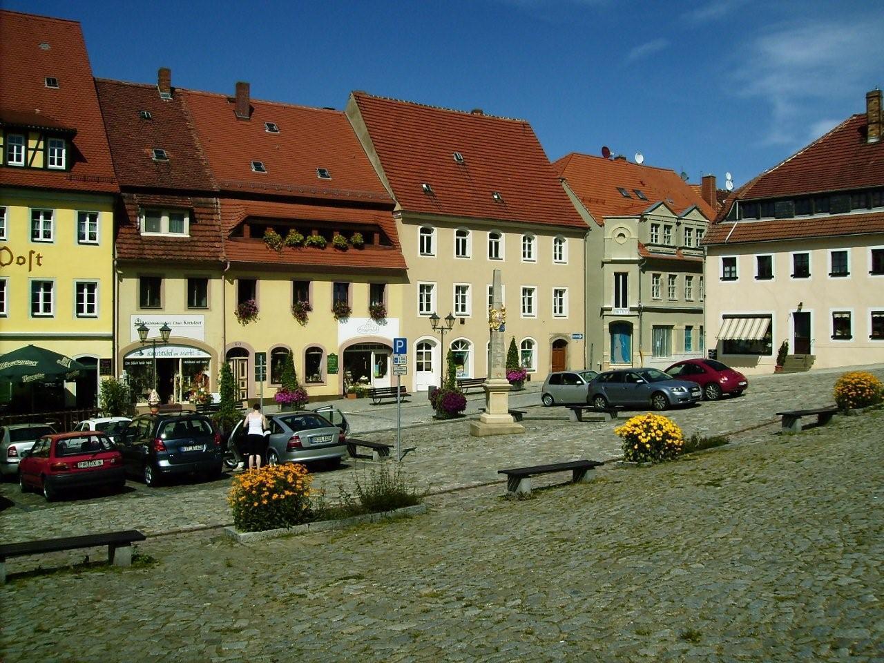 Marktplatz Stolpen