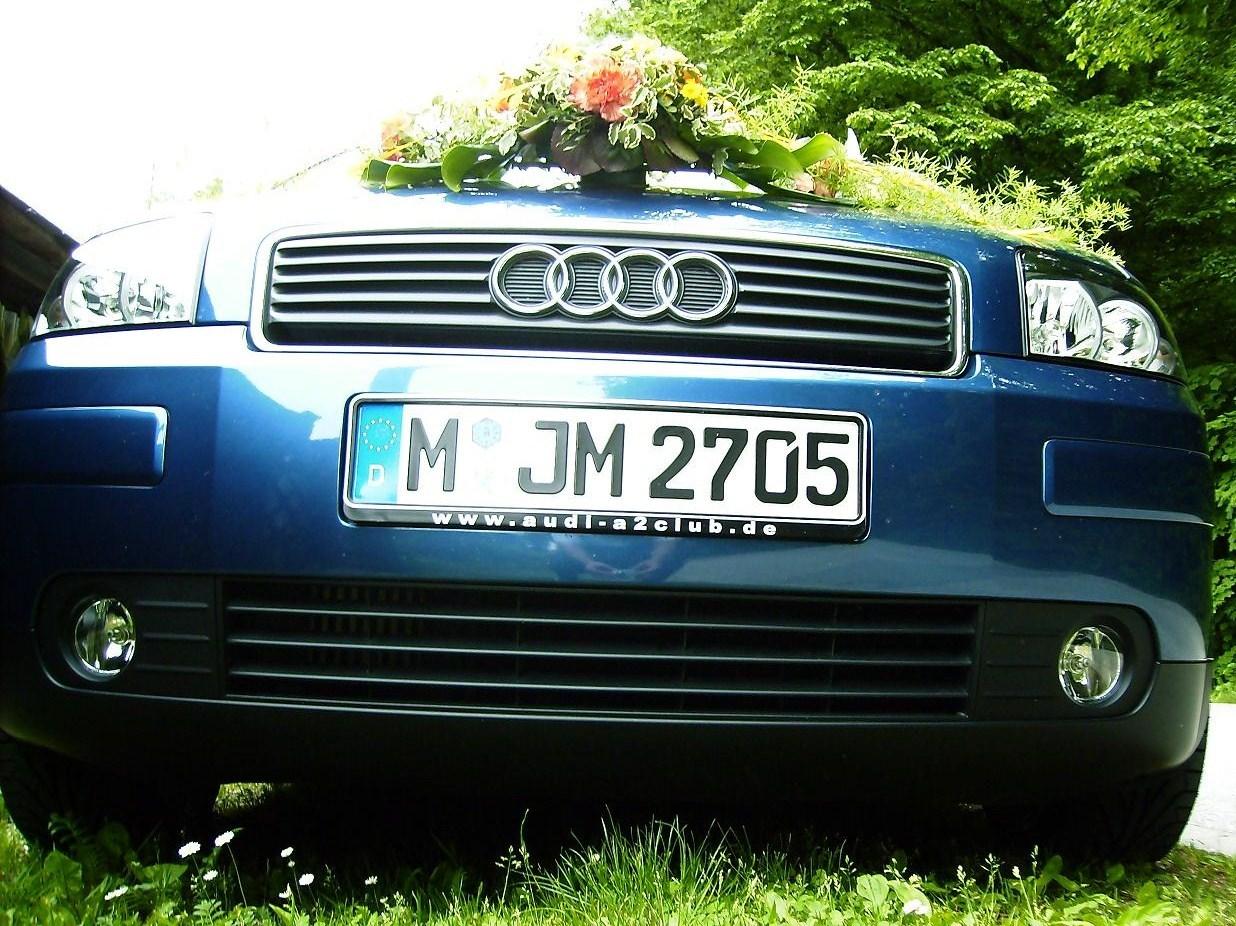 Unser Hochzeitsauto