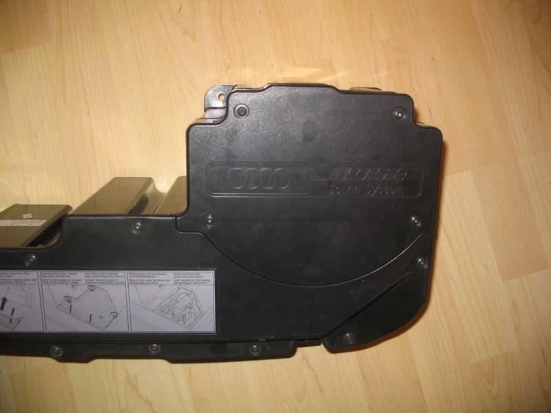 Bosesystem Details der Bauteile