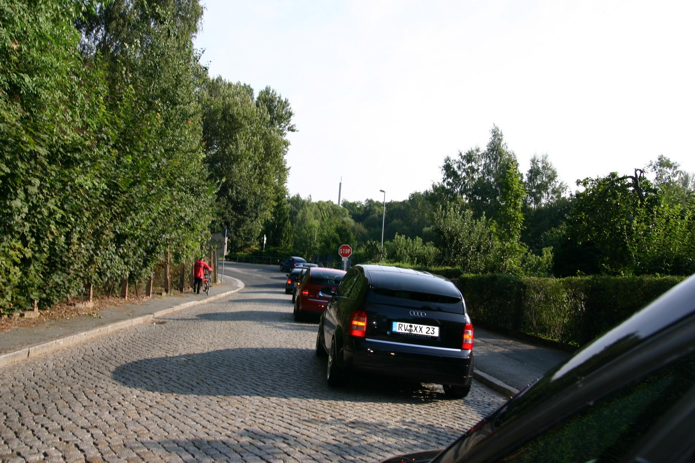 Fahrt nach Dresden