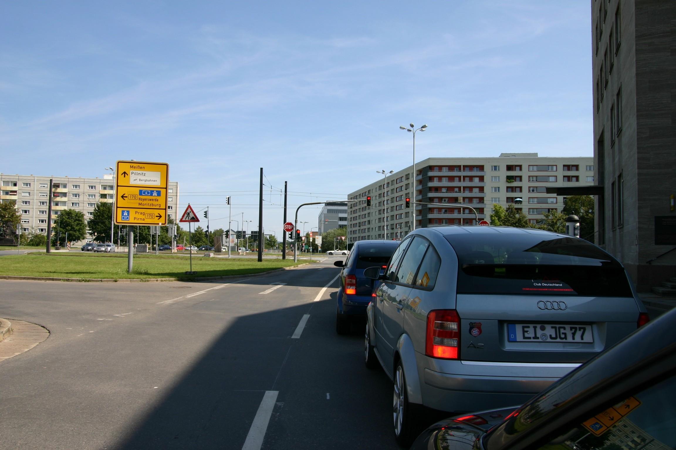 auf dem Weg zur Sachsen Classic in Schönfeld