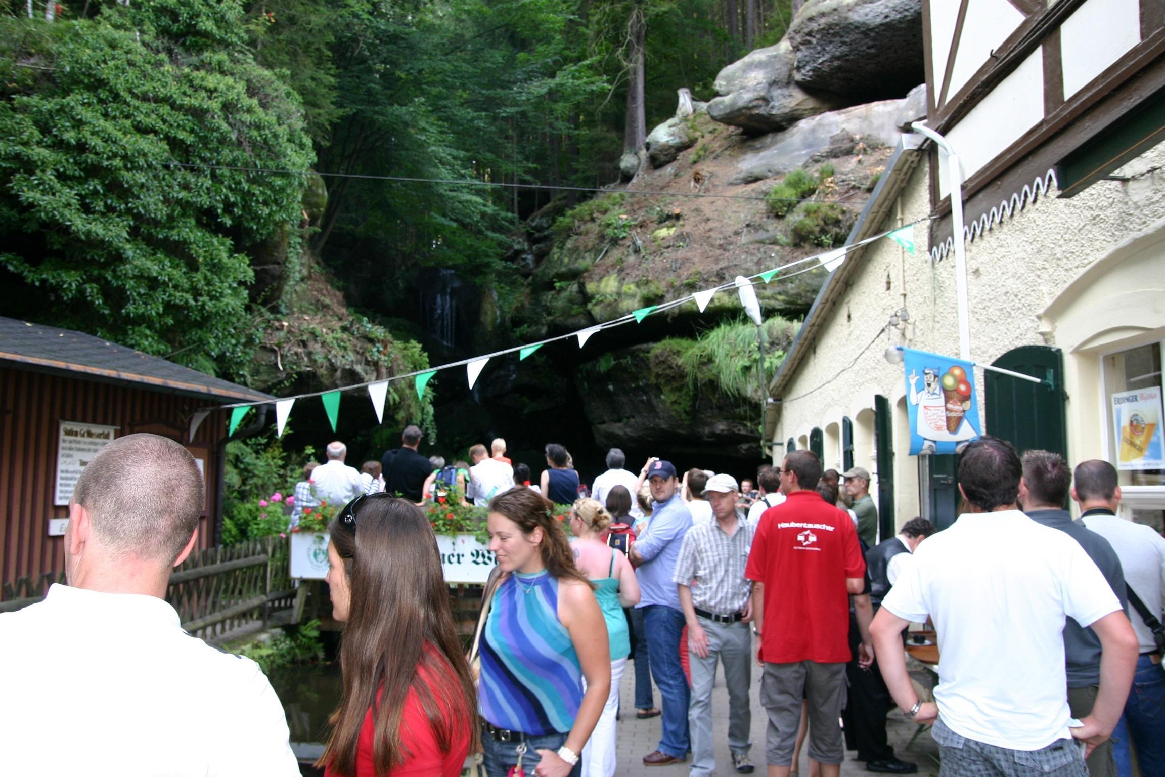 Bad Schandau (Kirnitzschtalbahn / Lichtenhainer Wasserfall)