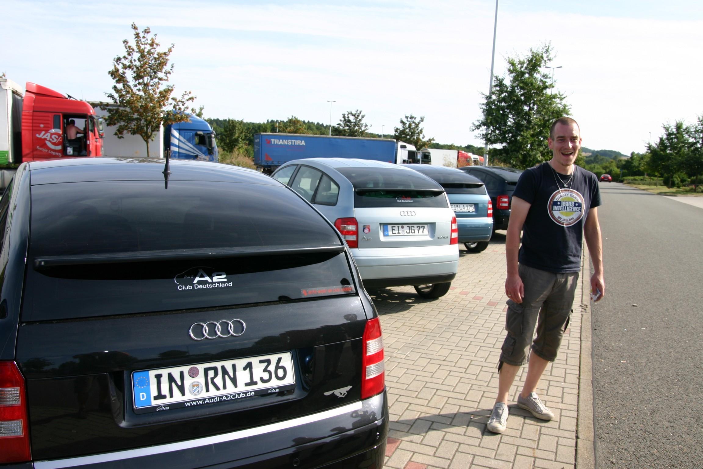 Heimfahrt Richtung Ingolstadt