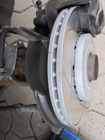 ATE Power Disk mit ATE Ceramic Bremsbeläge
