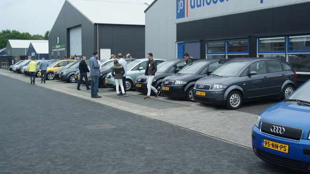 Audi A2 NL Meeting Mai 2015