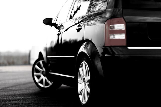 Audi A2 in Aktion