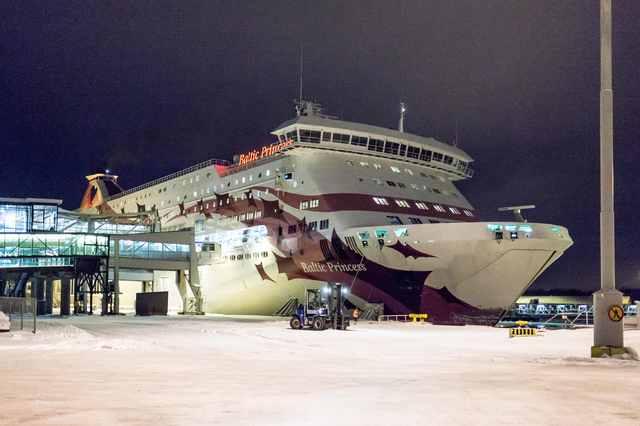 Fahrt von Helsinki nach Turku