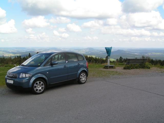 A2 auf dem Fichtelberg