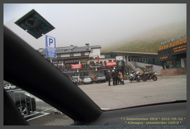 Die Teilnehmer 1.Dolomitenrundfahrt 2012