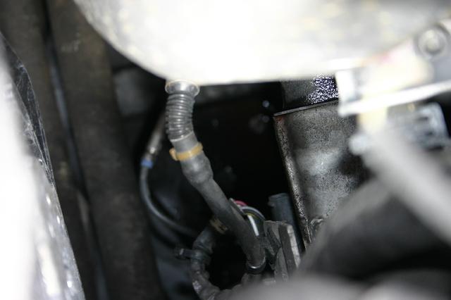wasserflansch am fsi motor