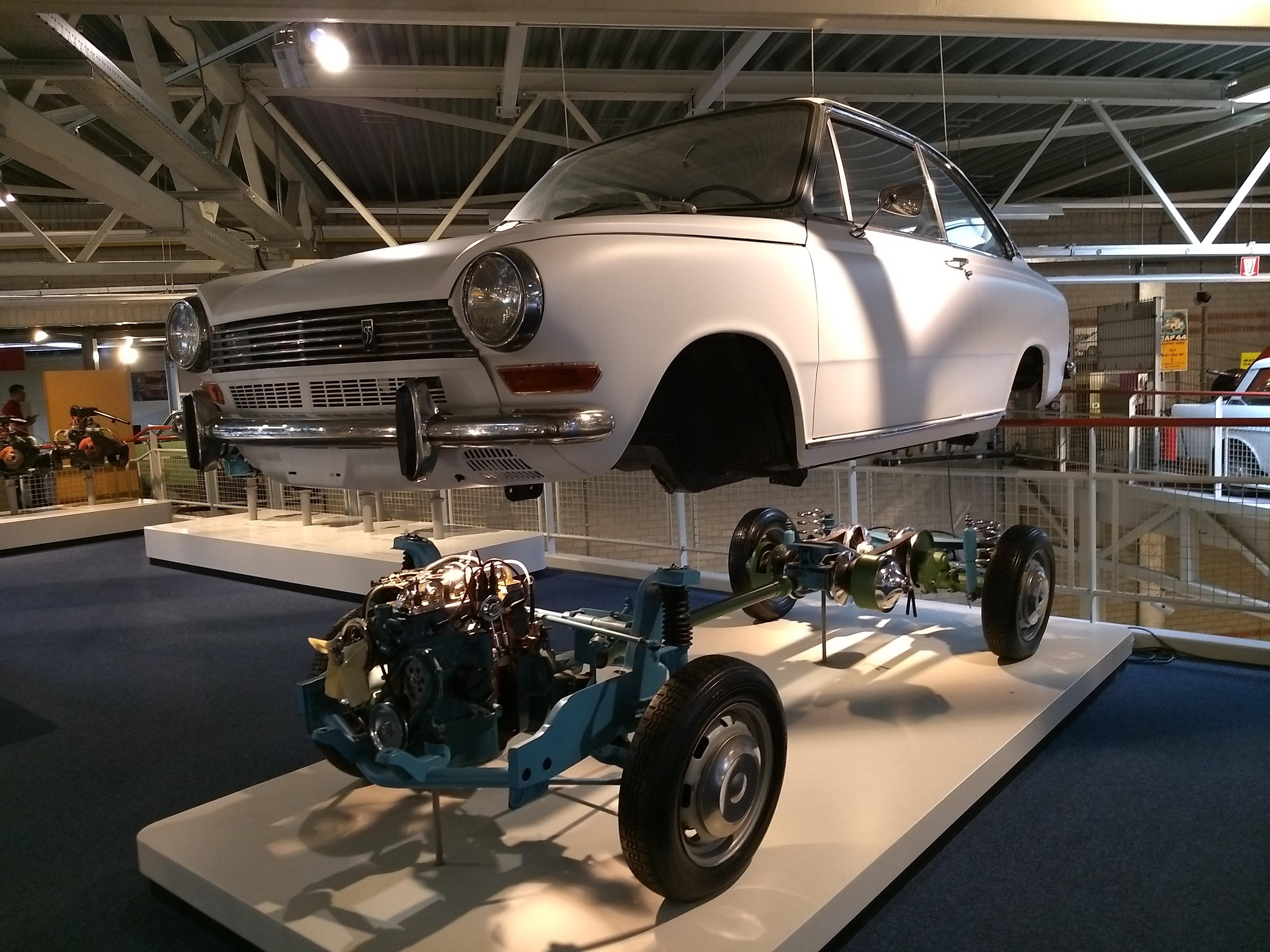 DAF-Museum: Der DAF 55. Mit offenem CVT.