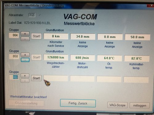 Ölstand VCDS nach Befüllen mit 1 Liter.JPG
