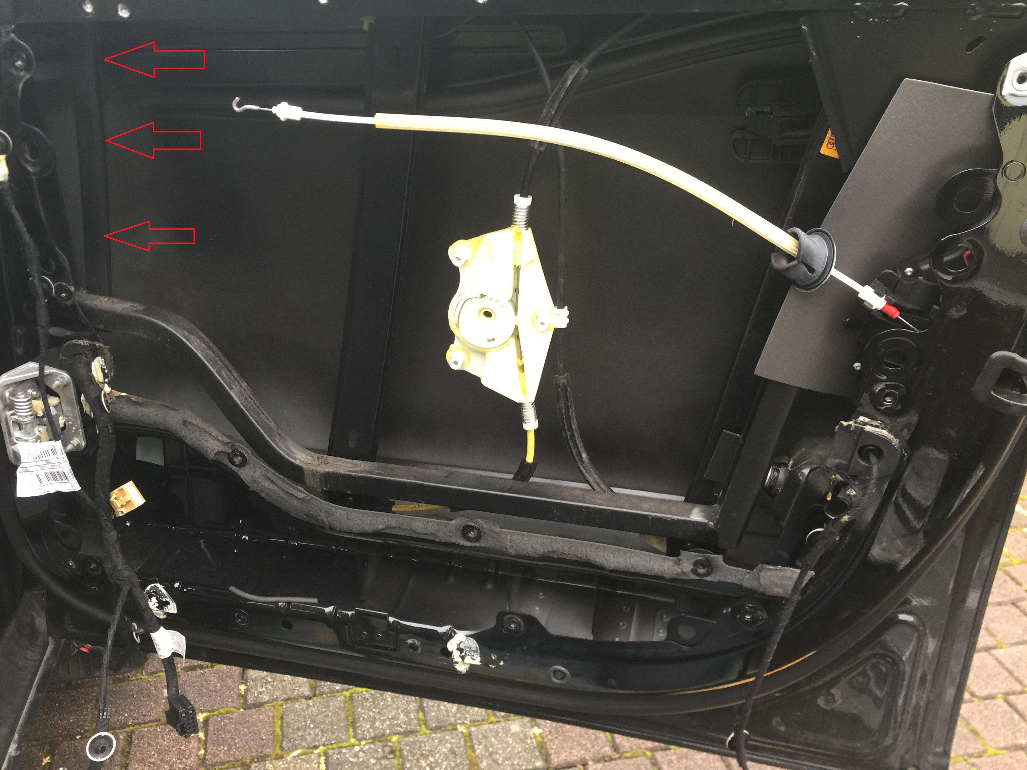 Nasse Türverkleidung - Seite 4 - Technik - Audi A2 Club Deutschland